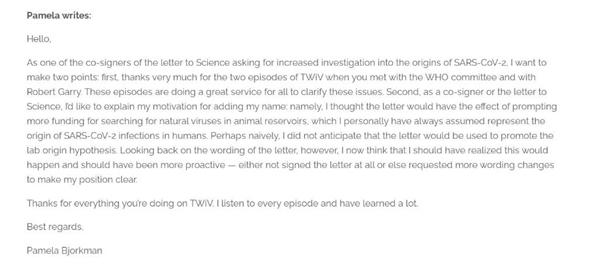 """天真了!美科学家后悔联署涉""""实验室泄漏""""说公开信"""