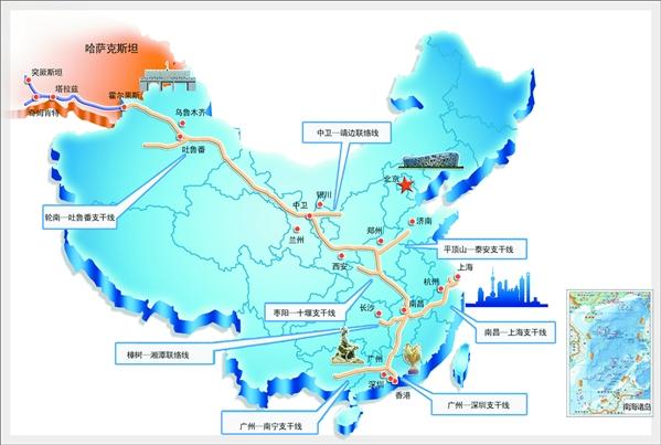 如今广东省7个城市的10家城市燃气公司,3个电厂和4个工业用户等已源源