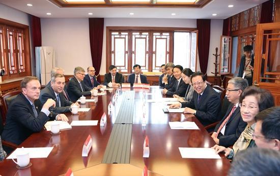 哈佛大学校长白乐瑞访问北京大学并发表演讲
